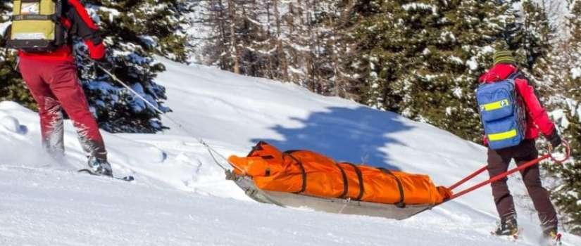 Wat te doen bij een ski ongeval?