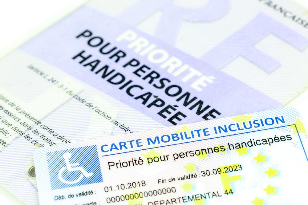 Vrijstelling Europese gehandicaptenkaart