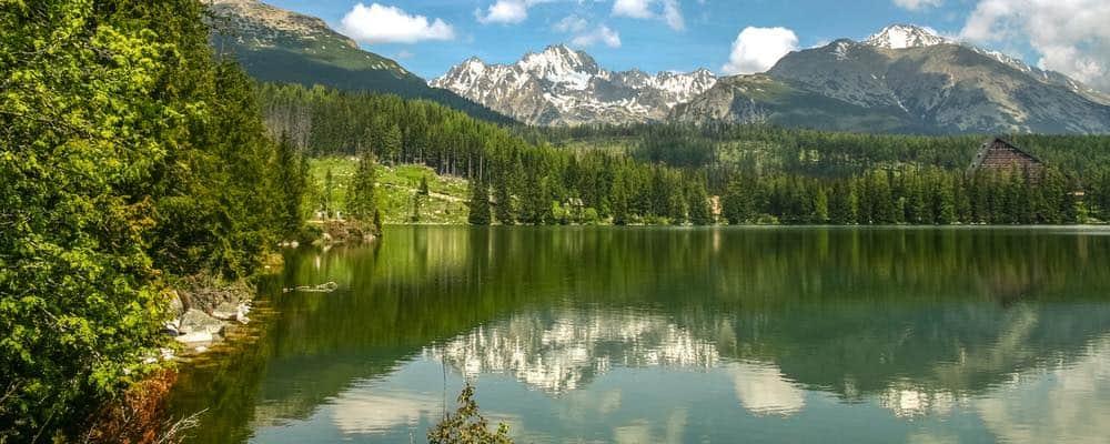 Strsbke Pleso bergmeer in Slowakije