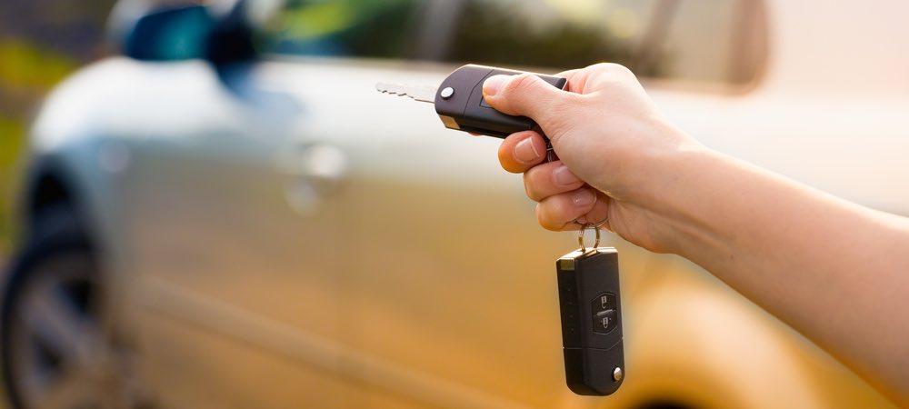 auto sleutels van auto