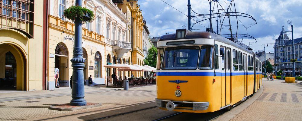 Hongaarse trein