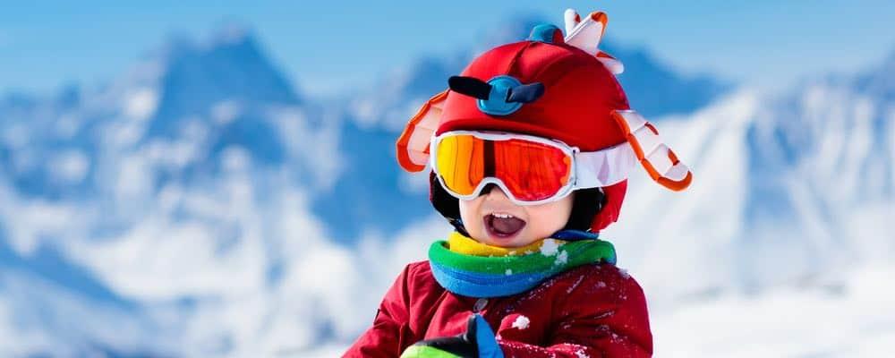 wintersport kind