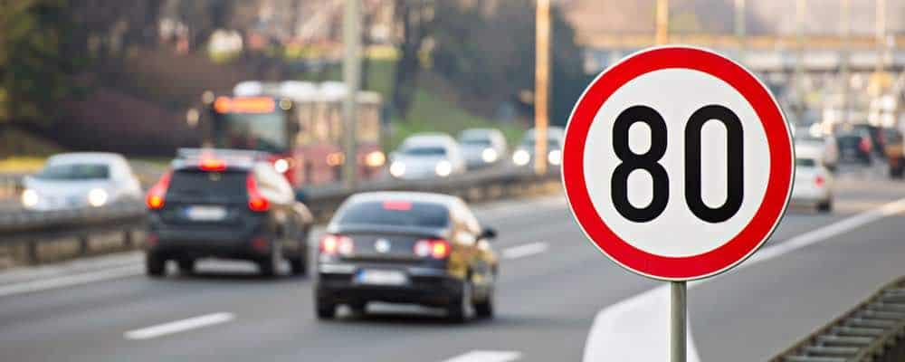 verkeersbord maximumsnelheid