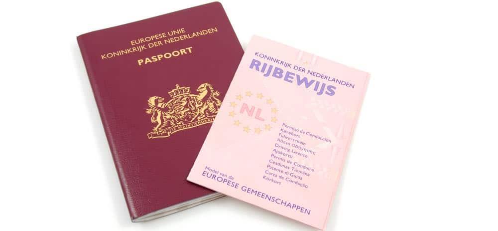 nederlands paspoort en rijbewijs