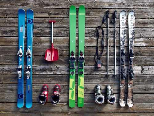 diverse ski's