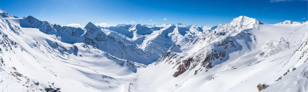 uitzicht stubaier gletscher