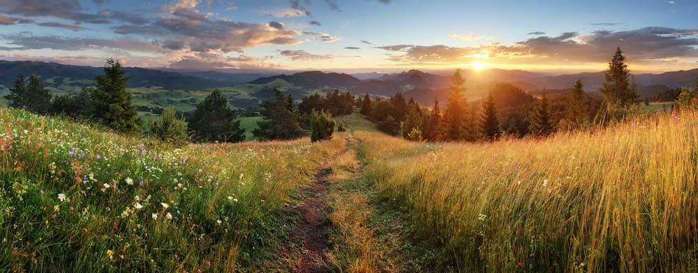 uitzicht van het tatra gebergte slowakije