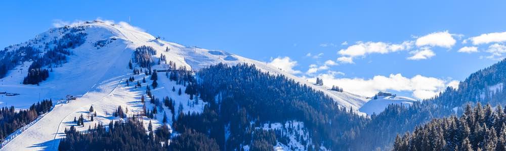 uitzicht skigebied skiwelt
